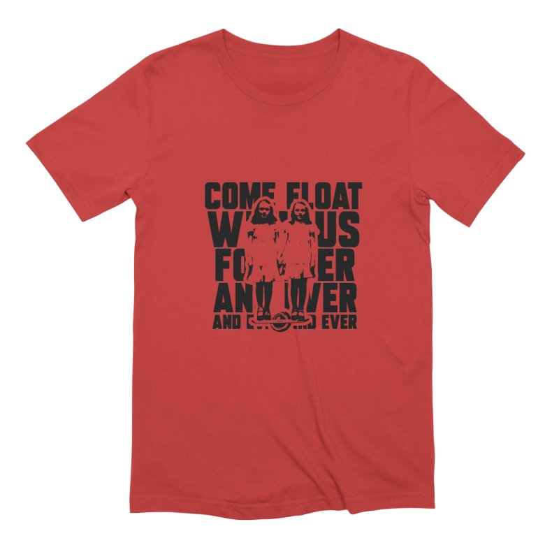 Come Float With Us - Black Men's Extra Soft T-Shirt by Stoke Butter - Spread the Stoke