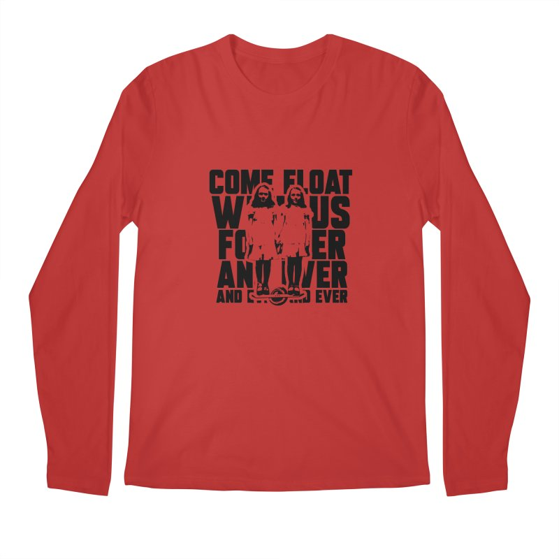 Come Float With Us - Black Men's Regular Longsleeve T-Shirt by Stoke Butter - Spread the Stoke