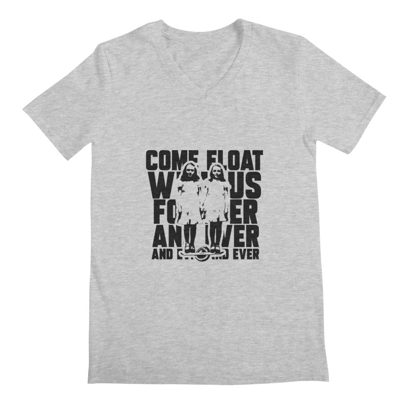 Come Float With Us - Black Men's Regular V-Neck by Stoke Butter - Spread the Stoke