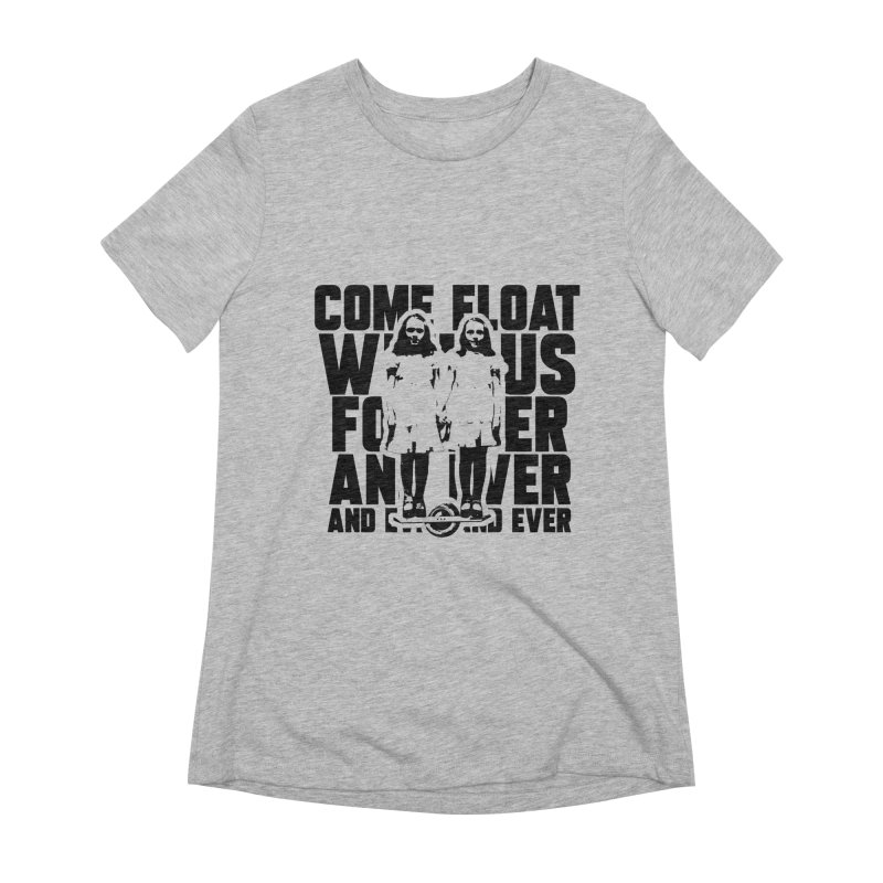 Come Float With Us - Black Women's T-Shirt by Stoke Butter - Spread the Stoke