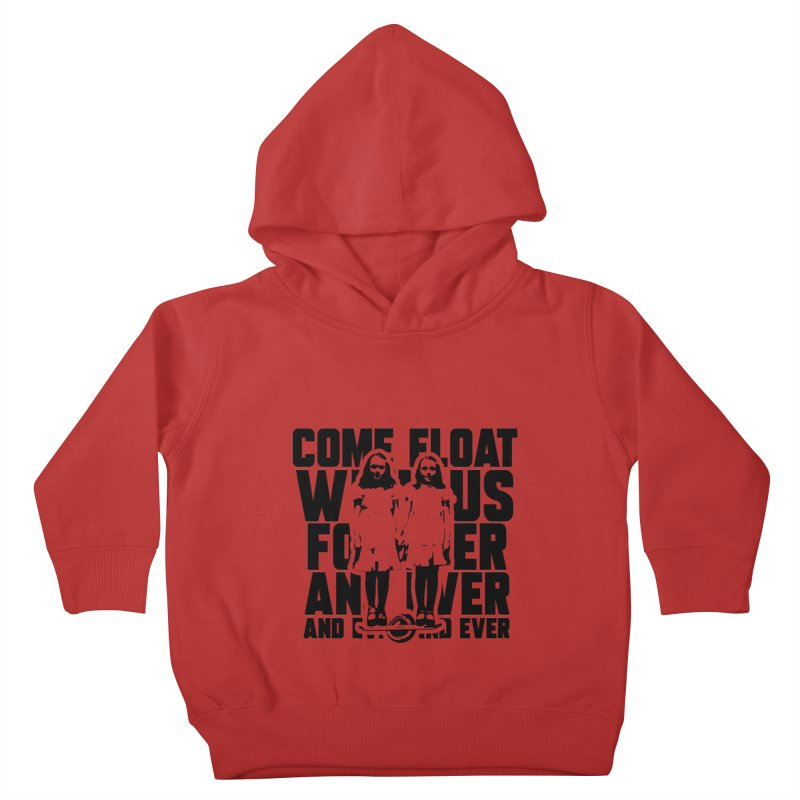 Come Float With Us - Black Kids Toddler Pullover Hoody by Stoke Butter - Spread the Stoke