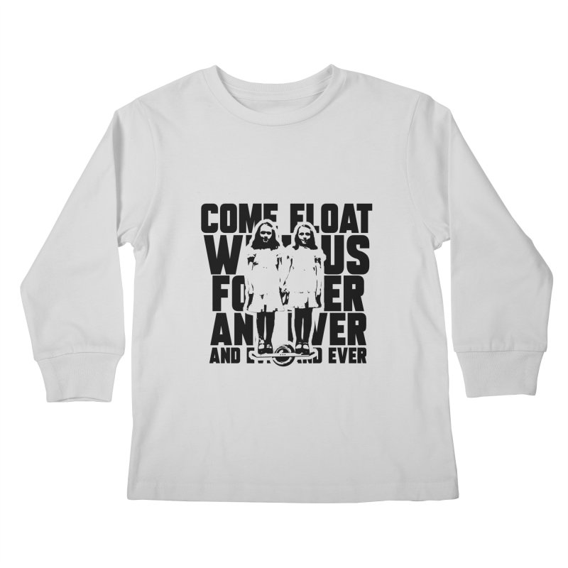 Come Float With Us - Black Kids Longsleeve T-Shirt by Stoke Butter - Spread the Stoke