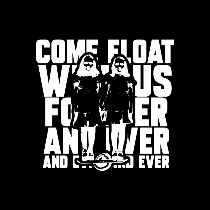 Come Float With Us - White Women's T-Shirt by Stoke Butter - Spread the Stoke