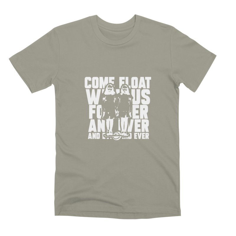 Come Float With Us - White Men's Premium T-Shirt by Stoke Butter - Spread the Stoke