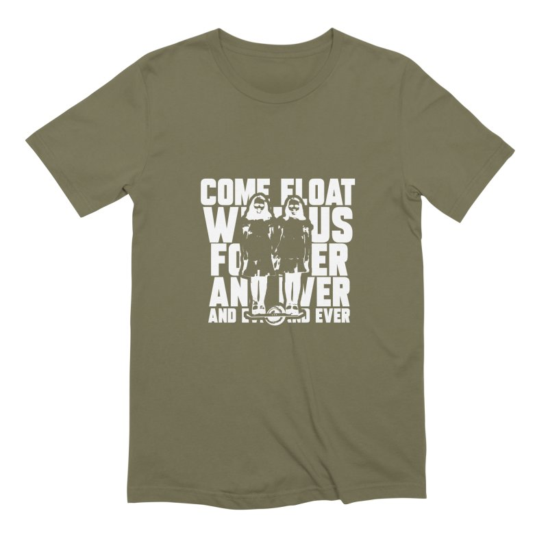 Come Float With Us - White Men's Extra Soft T-Shirt by Stoke Butter - Spread the Stoke