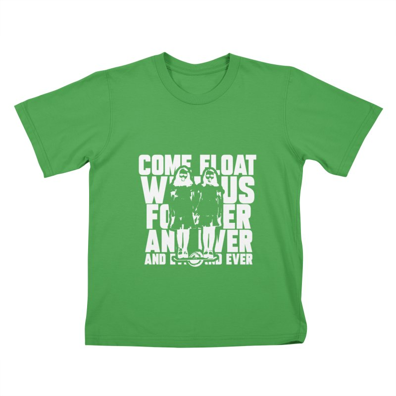 Come Float With Us - White Kids T-Shirt by Stoke Butter - Spread the Stoke