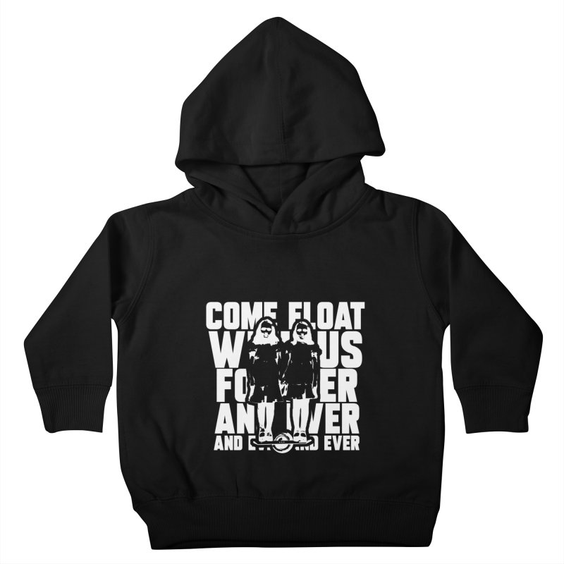 Come Float With Us - White Kids Toddler Pullover Hoody by Stoke Butter - Spread the Stoke