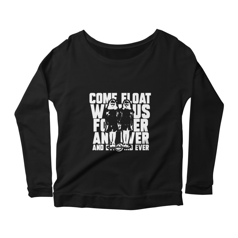 Come Float With Us - White Women's Longsleeve T-Shirt by Stoke Butter - Spread the Stoke