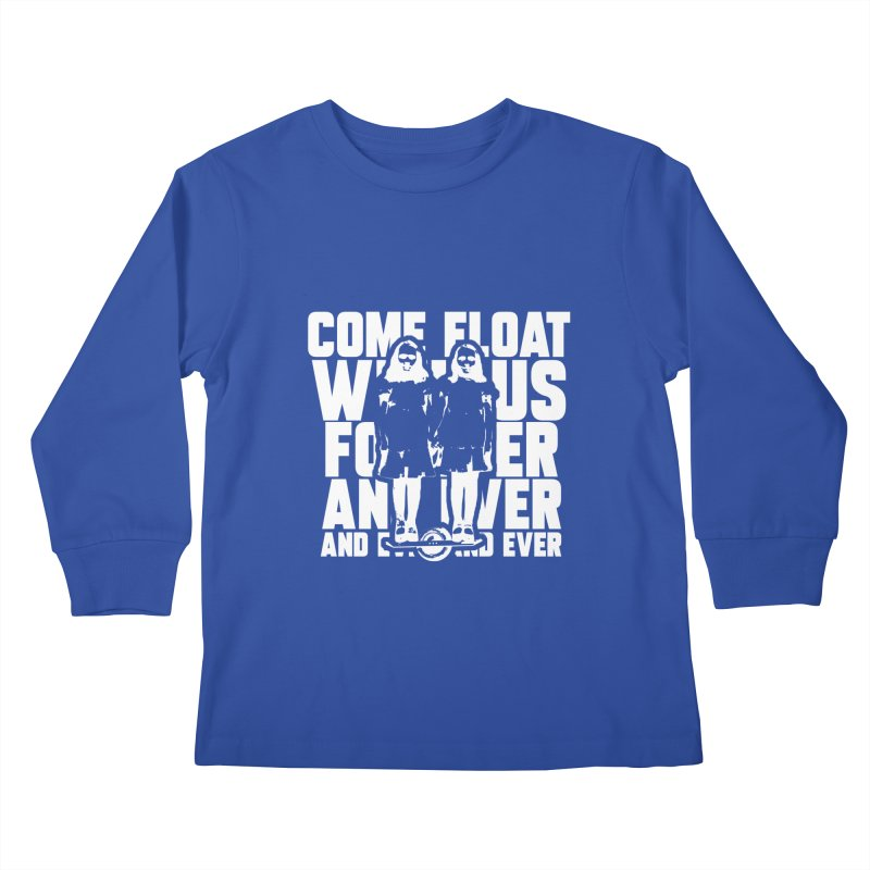 Come Float With Us - White Kids Longsleeve T-Shirt by Stoke Butter - Spread the Stoke