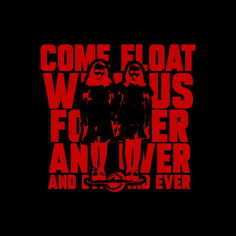 Come Float With Us - Red Kids T-Shirt by Stoke Butter - Spread the Stoke