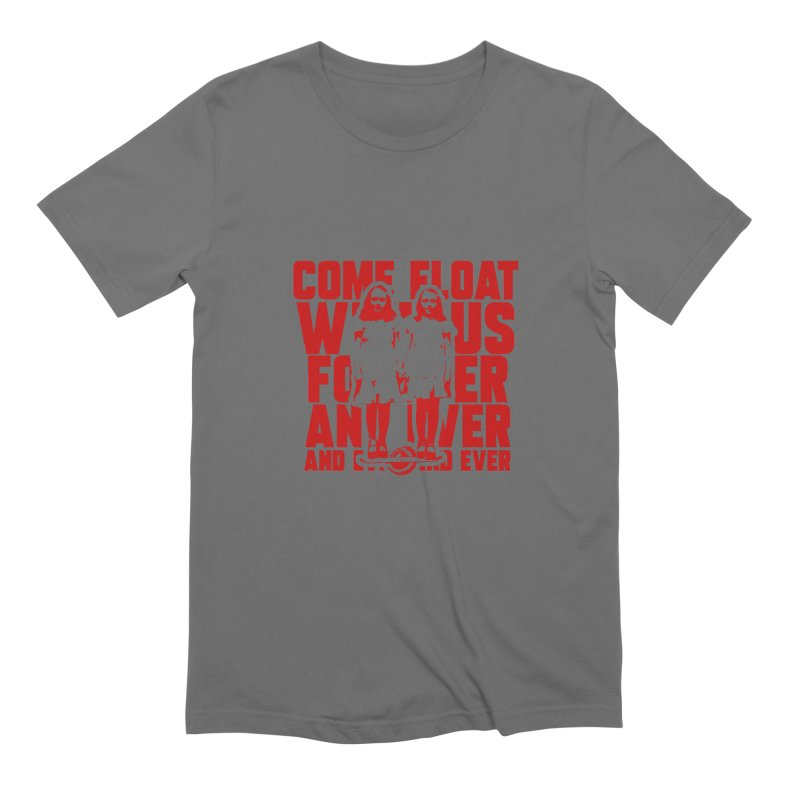 Come Float With Us - Red Men's Extra Soft T-Shirt by Stoke Butter - Spread the Stoke