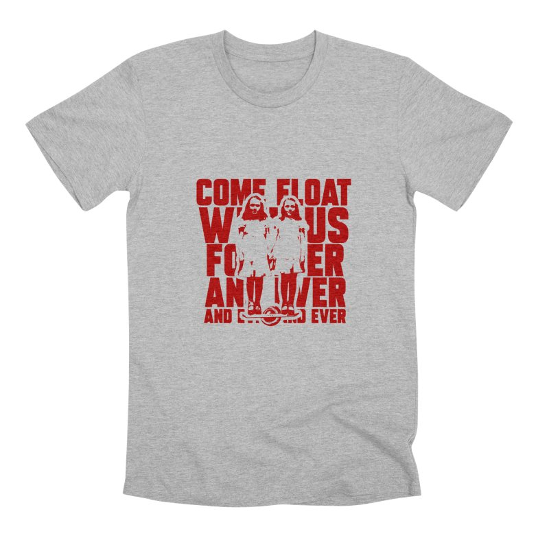 Come Float With Us - Red Men's Premium T-Shirt by Stoke Butter - Spread the Stoke