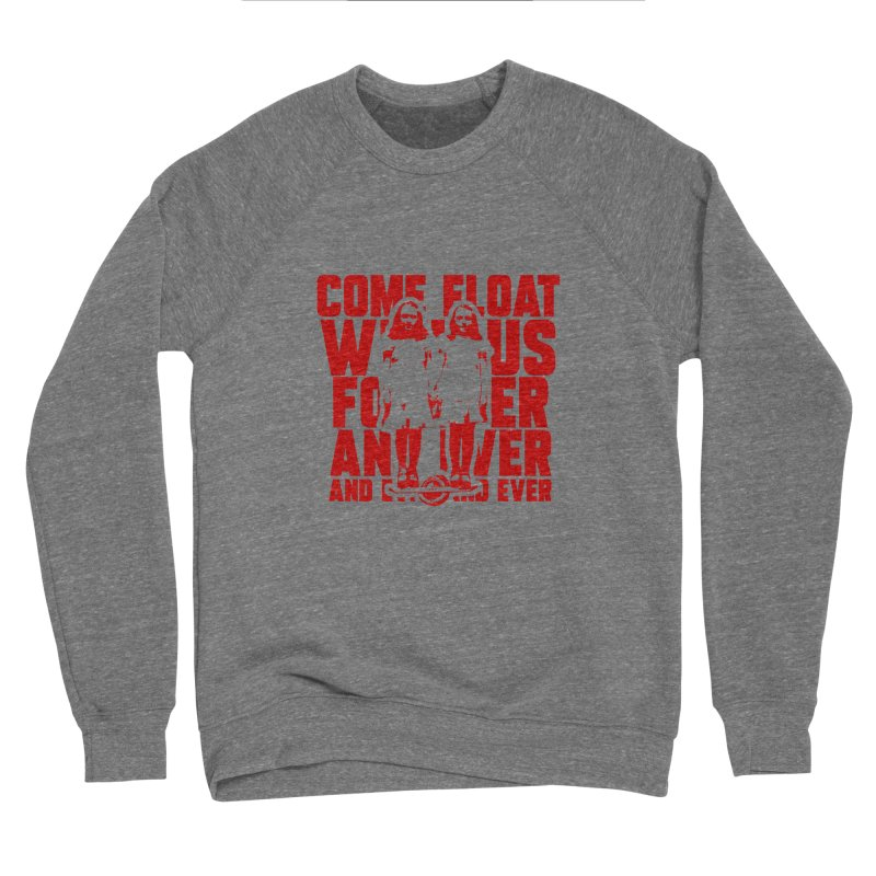 Come Float With Us - Red Men's Sweatshirt by Stoke Butter - Spread the Stoke