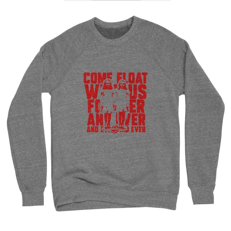 Come Float With Us - Red Women's Sponge Fleece Sweatshirt by Stoke Butter - Spread the Stoke