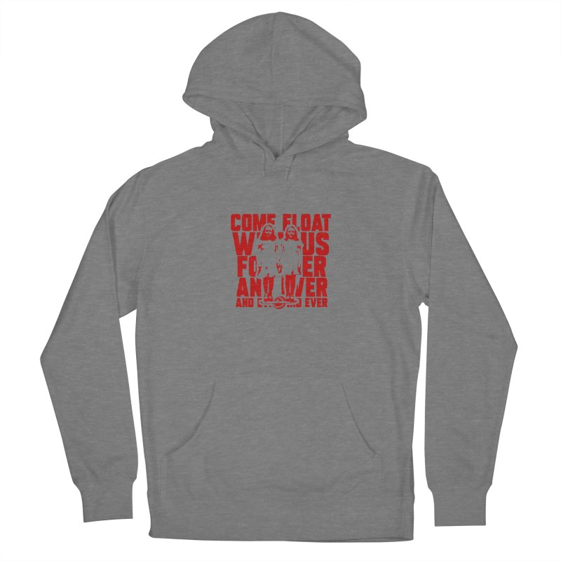 Come Float With Us - Red Women's Pullover Hoody by Stoke Butter - Spread the Stoke