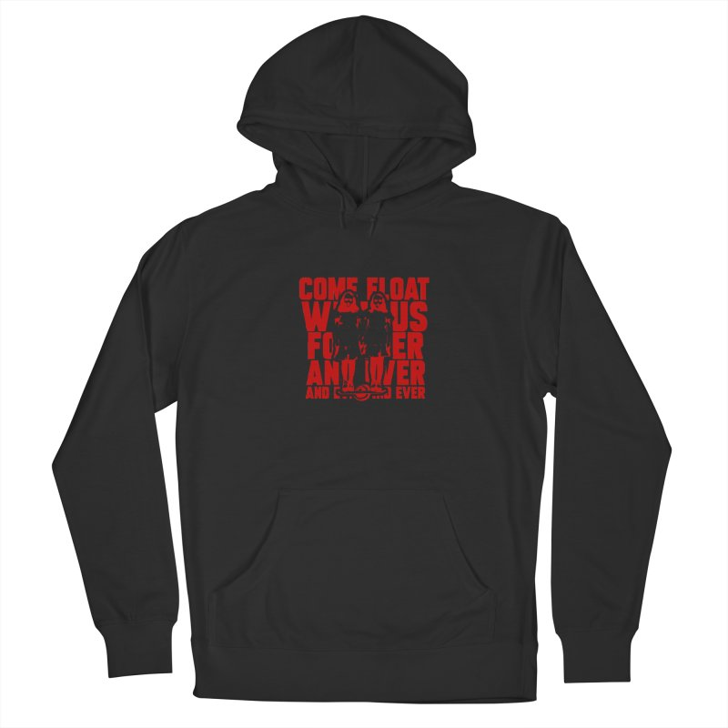 Come Float With Us - Red Men's Pullover Hoody by Stoke Butter - Spread the Stoke