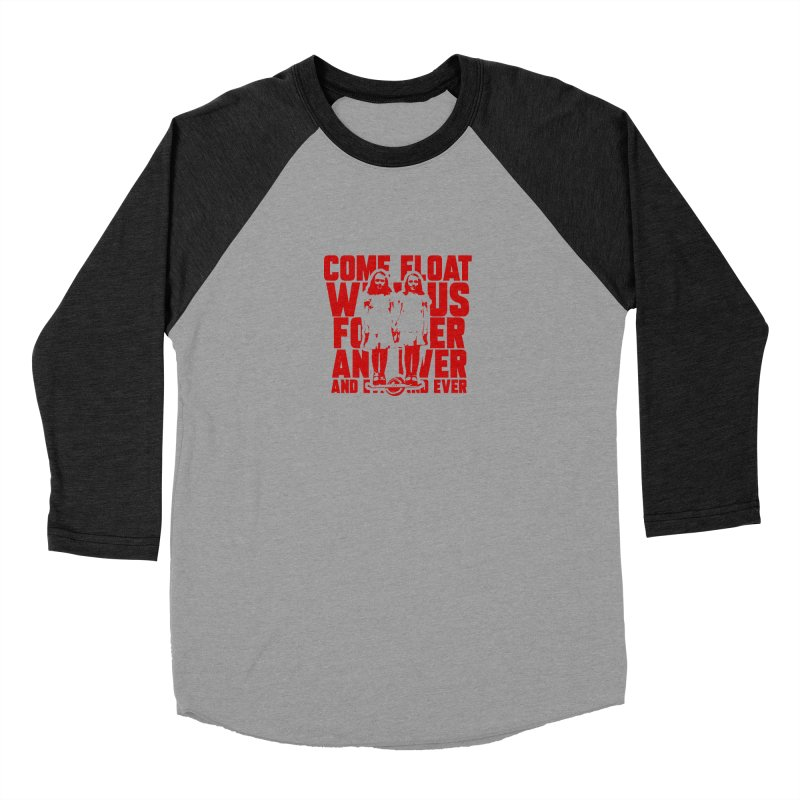 Come Float With Us - Red Men's Longsleeve T-Shirt by Stoke Butter - Spread the Stoke