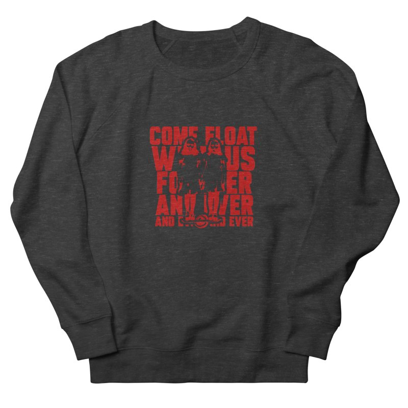 Come Float With Us - Red Women's French Terry Sweatshirt by Stoke Butter - Spread the Stoke