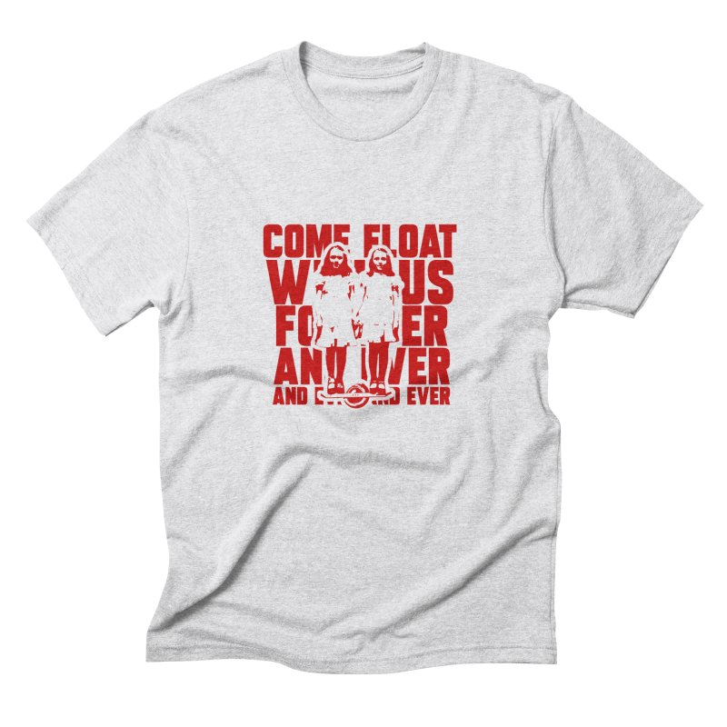 Come Float With Us - Red Men's Triblend T-Shirt by Stoke Butter - Spread the Stoke