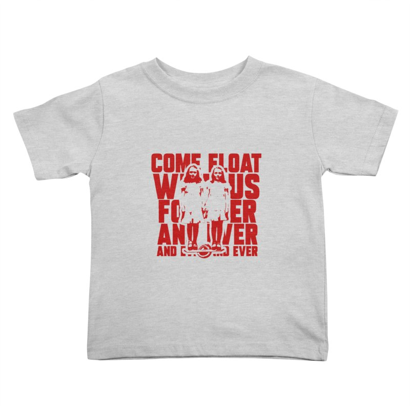 Come Float With Us - Red Kids Toddler T-Shirt by Stoke Butter - Spread the Stoke