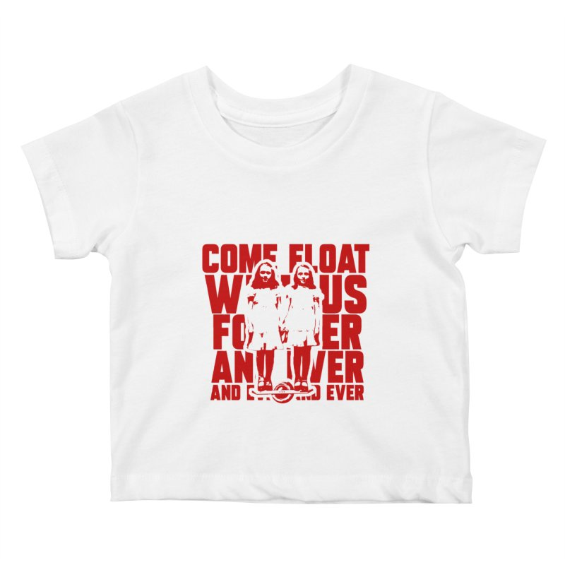Come Float With Us - Red Kids Baby T-Shirt by Stoke Butter - Spread the Stoke