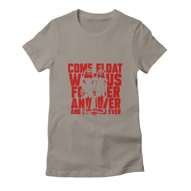 Come Float With Us - Red Women's T-Shirt by Stoke Butter - Spread the Stoke