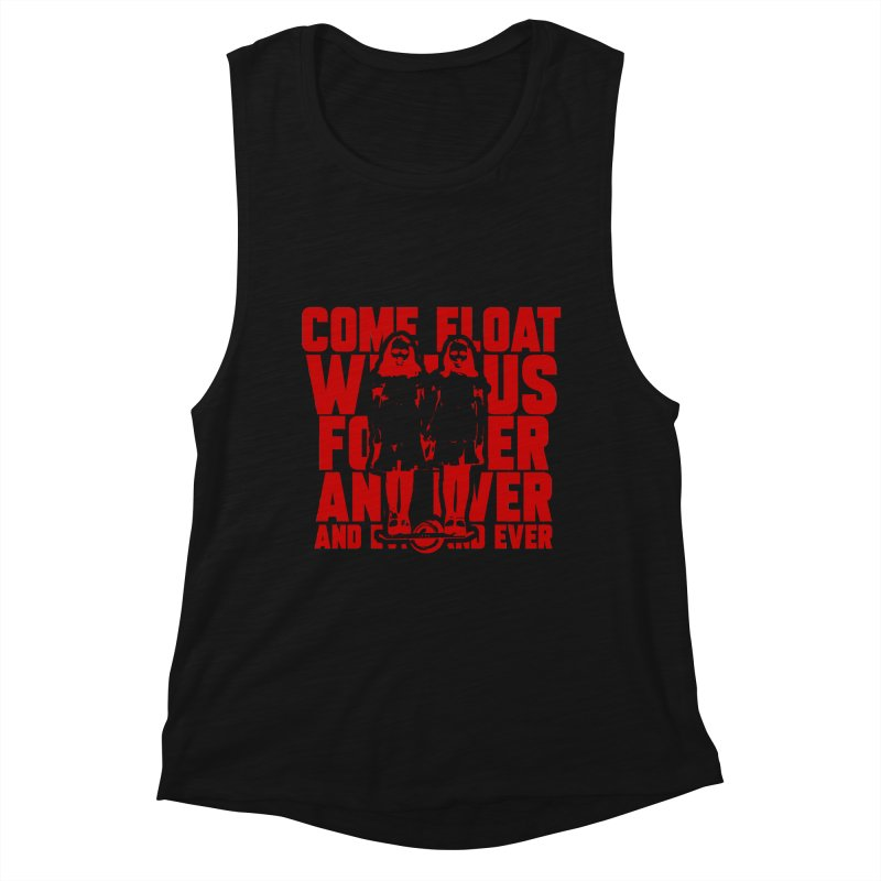Come Float With Us - Red Women's Tank by Stoke Butter - Spread the Stoke