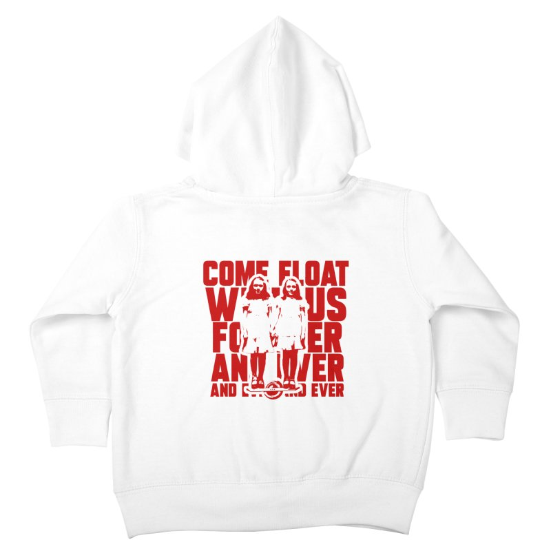 Come Float With Us - Red Kids Toddler Zip-Up Hoody by Stoke Butter - Spread the Stoke