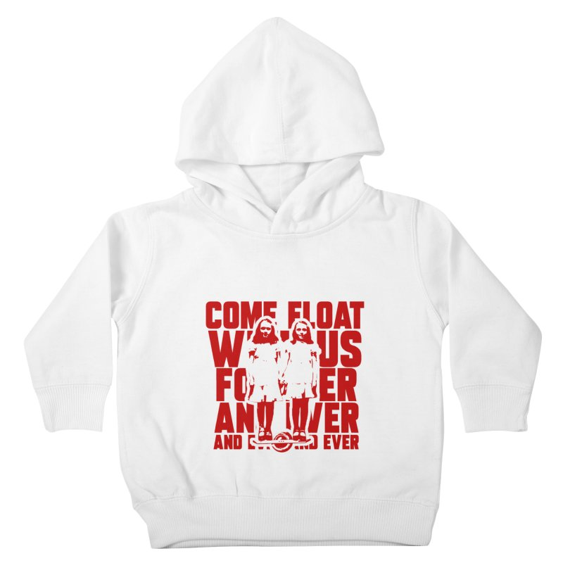 Come Float With Us - Red Kids Toddler Pullover Hoody by Stoke Butter - Spread the Stoke