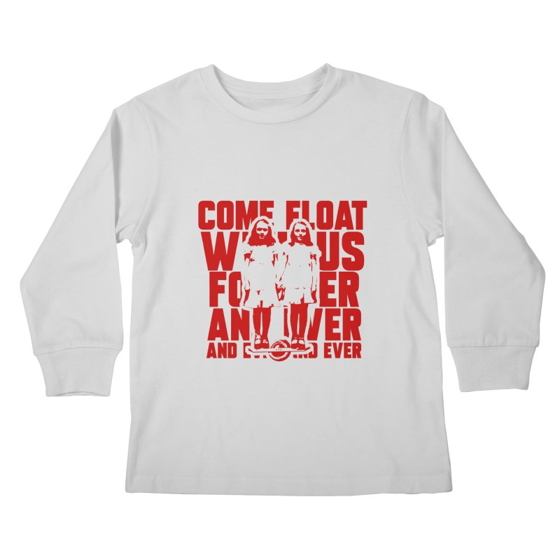 Come Float With Us - Red Kids Longsleeve T-Shirt by Stoke Butter - Spread the Stoke