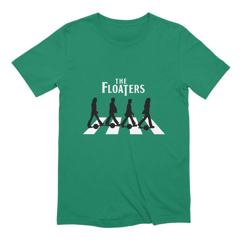 Abbey Wheel Men's Extra Soft T-Shirt by Stoke Butter - Spread the Stoke