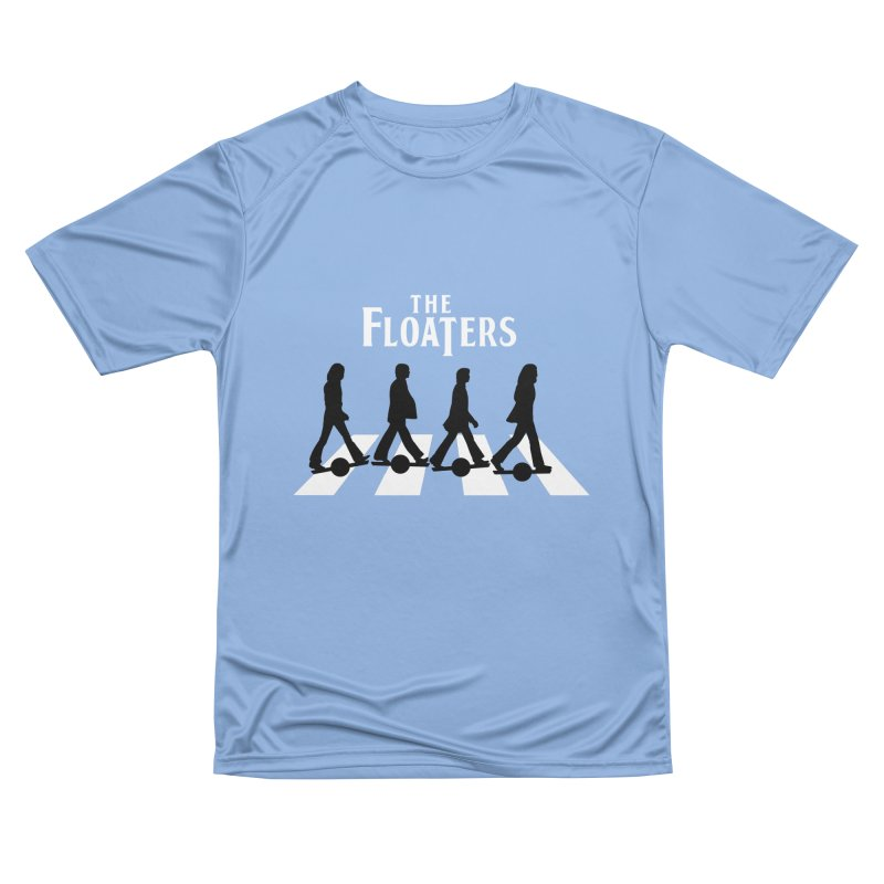 Abbey Wheel Women's Performance Unisex T-Shirt by Stoke Butter - Spread the Stoke