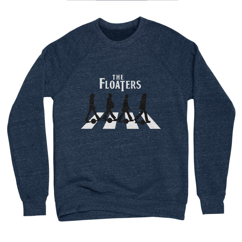 Abbey Wheel Men's Sponge Fleece Sweatshirt by Stoke Butter - Spread the Stoke