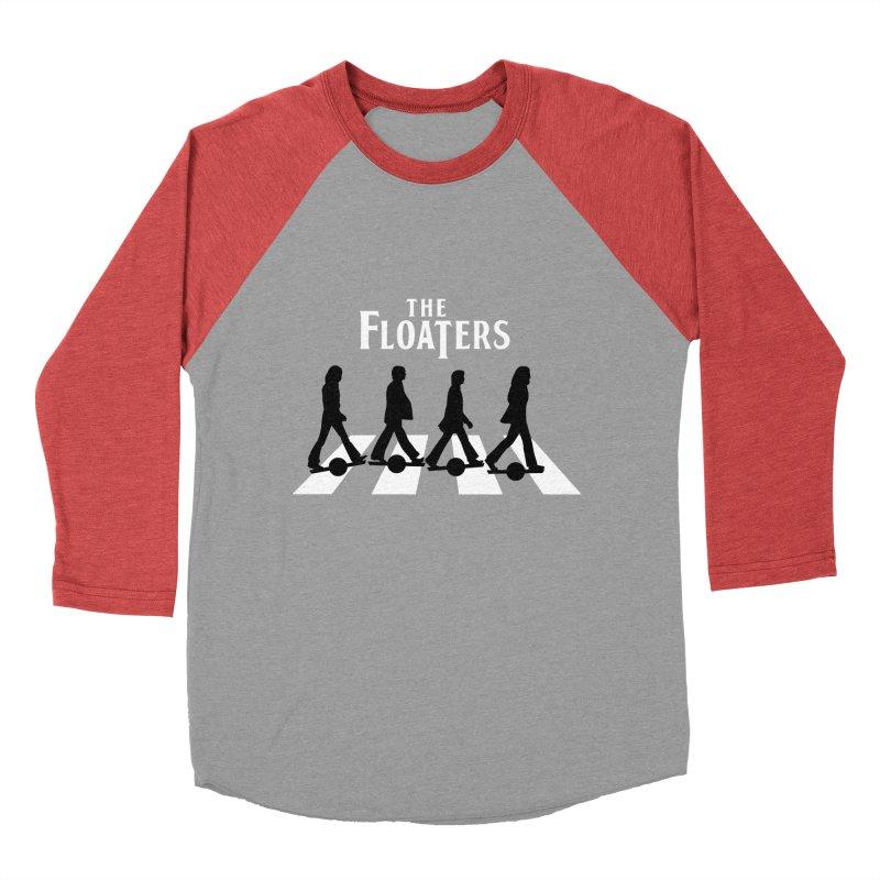 Abbey Wheel Women's Baseball Triblend Longsleeve T-Shirt by Stoke Butter - Spread the Stoke