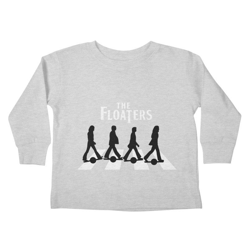 Abbey Wheel Kids Toddler Longsleeve T-Shirt by Stoke Butter - Spread the Stoke