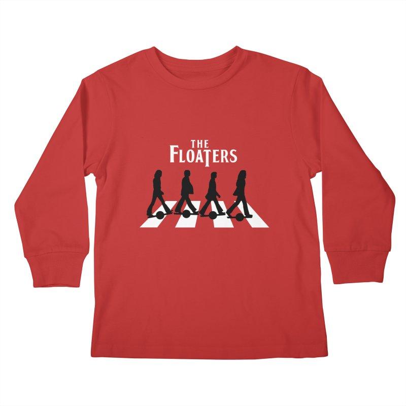Abbey Wheel Kids Longsleeve T-Shirt by Stoke Butter - Spread the Stoke