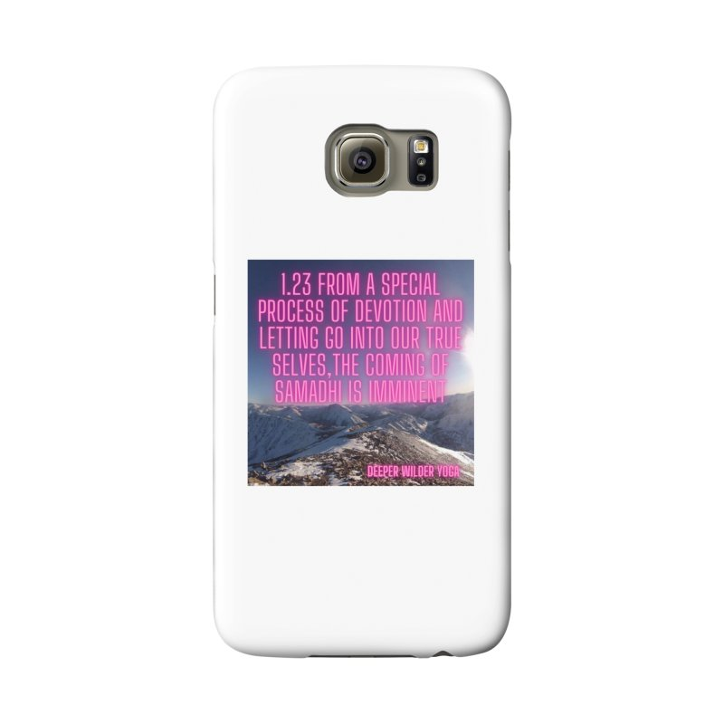 Yoga Sutras 1.23 Accessories Phone Case by stokedalpine's Artist Shop