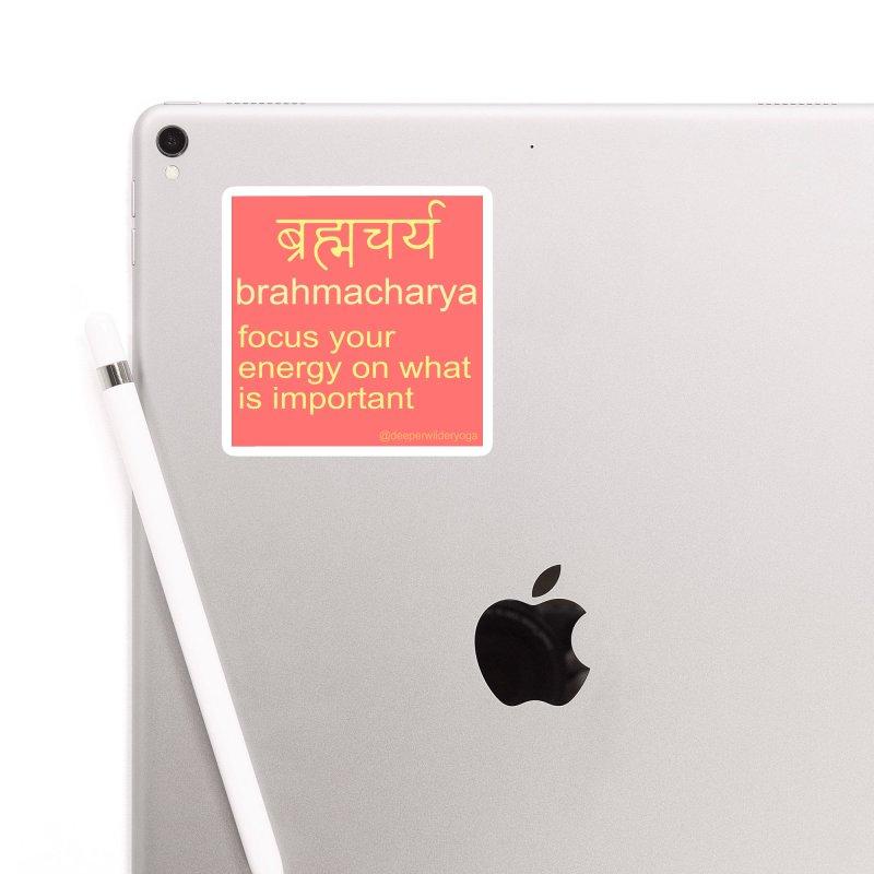 Brahmacharya Sticker Accessories Sticker by stokedalpine's Artist Shop