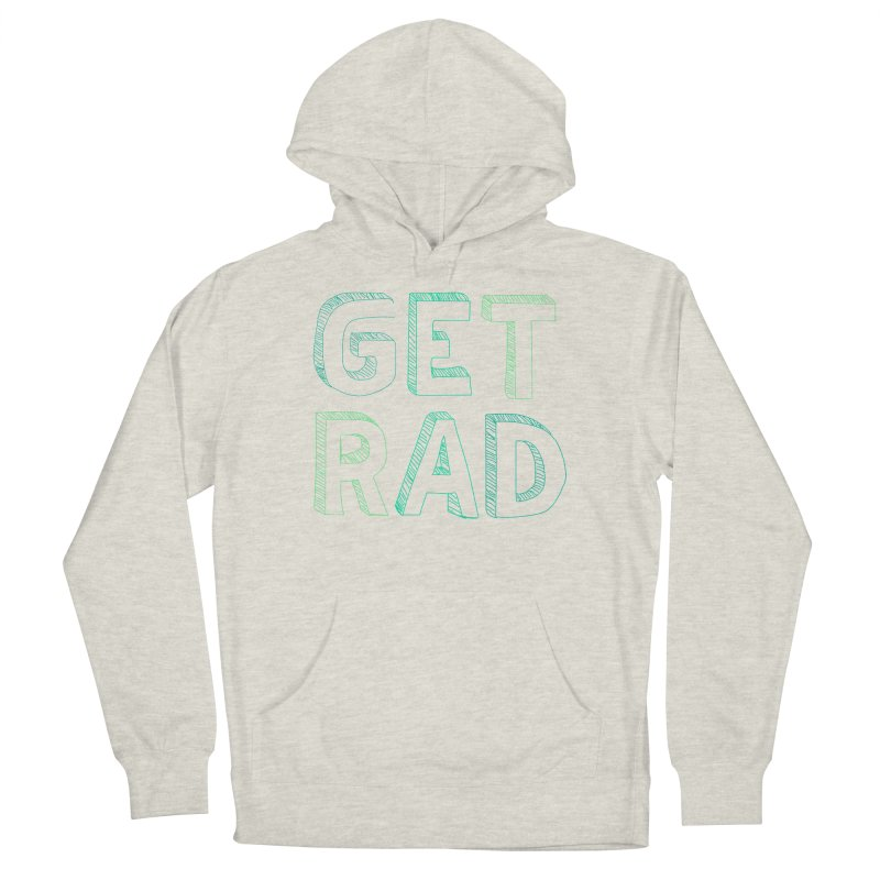 GET RAD- mint Women's French Terry Pullover Hoody by stokedalpine's Artist Shop
