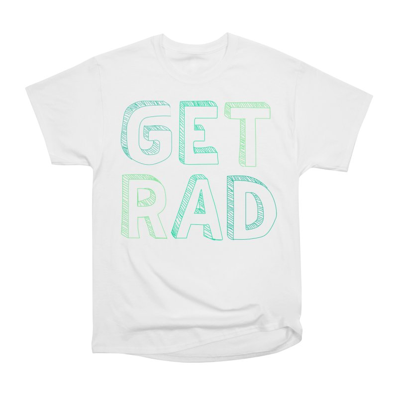 GET RAD- mint Men's Heavyweight T-Shirt by stokedalpine's Artist Shop