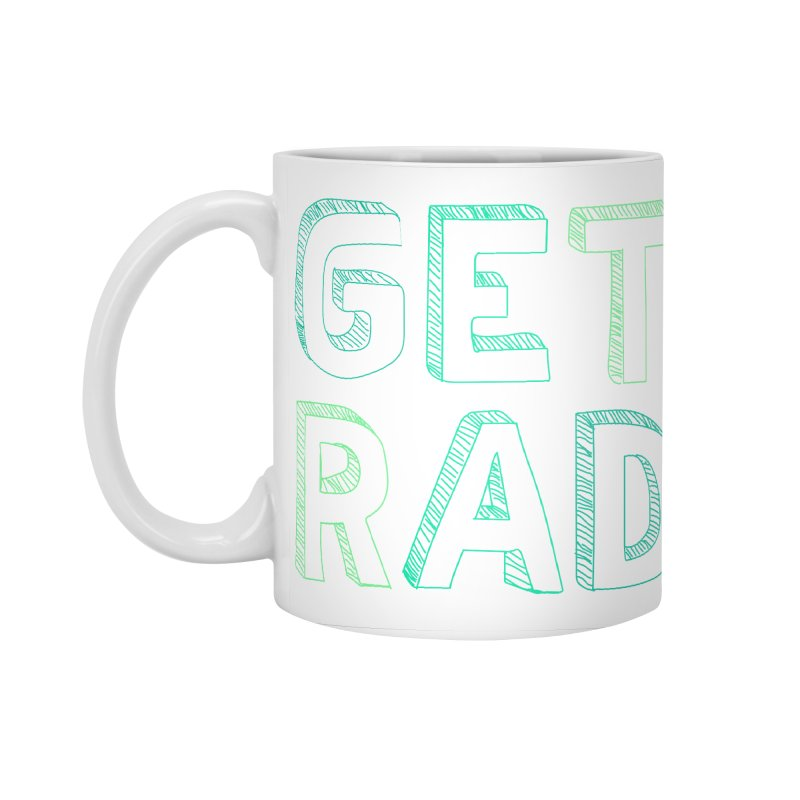 GET RAD- mint Accessories Standard Mug by stokedalpine's Artist Shop
