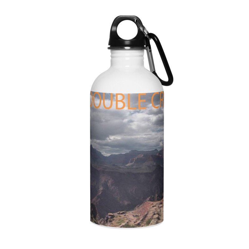 Grand Canyon R2R2R Accessories Water Bottle by stokedalpine's Artist Shop
