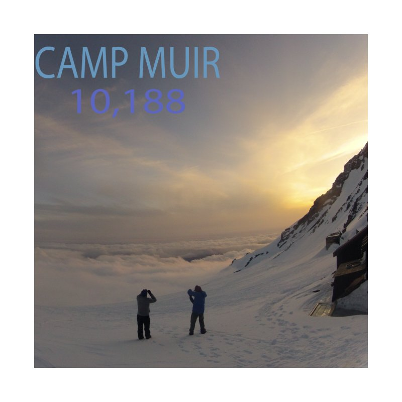 Camp Muir by stokedalpine's Artist Shop