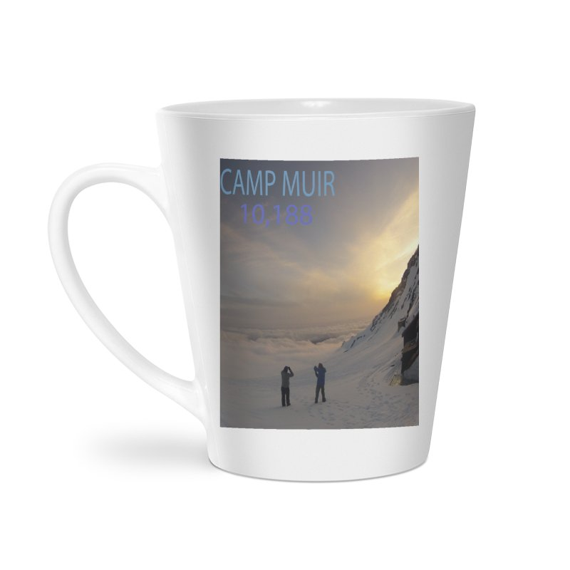 Camp Muir Accessories Latte Mug by stokedalpine's Artist Shop