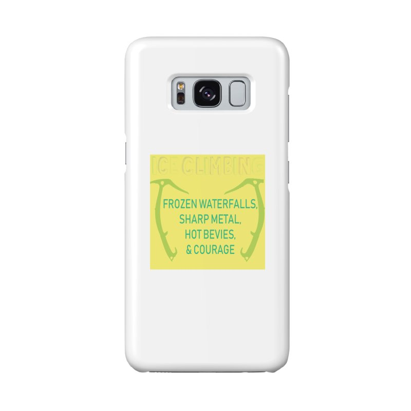 Ice Climbing Accessories Phone Case by stokedalpine's Artist Shop