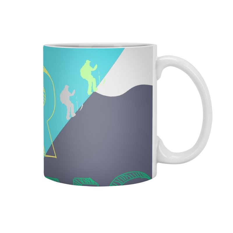 Earn Your Turns Accessories Mug by stokedalpine's Artist Shop