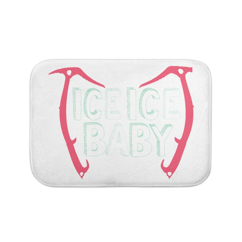 Ice, Ice Baby Home Bath Mat by stokedalpine's Artist Shop