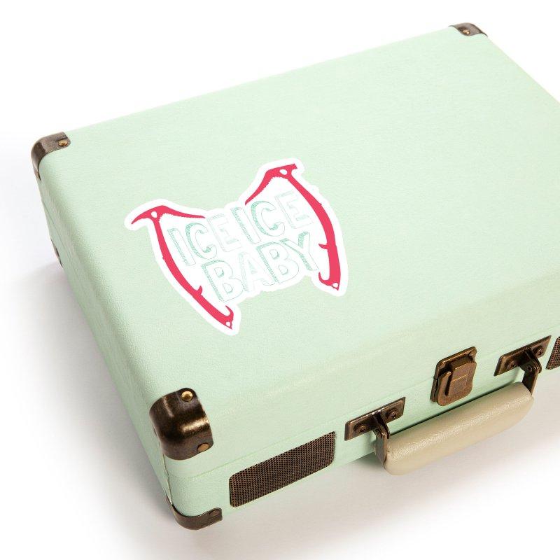 Ice, Ice Baby Accessories Sticker by stokedalpine's Artist Shop