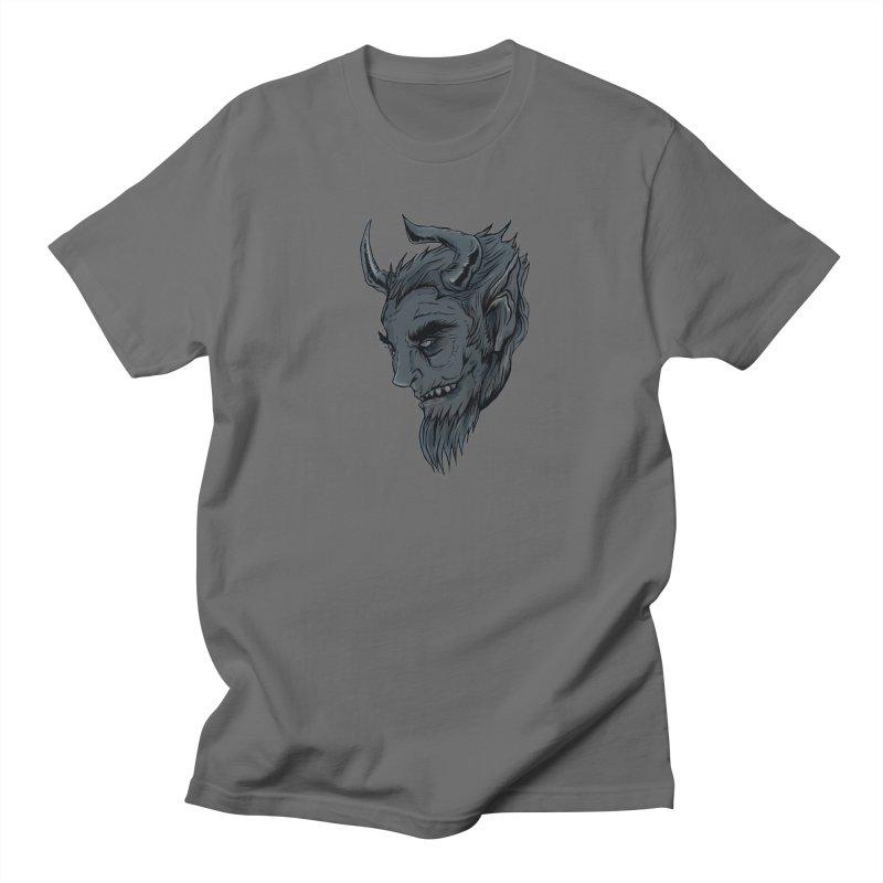 Krampus Men's T-Shirt by Stolen Halo the art of Rudy Flores