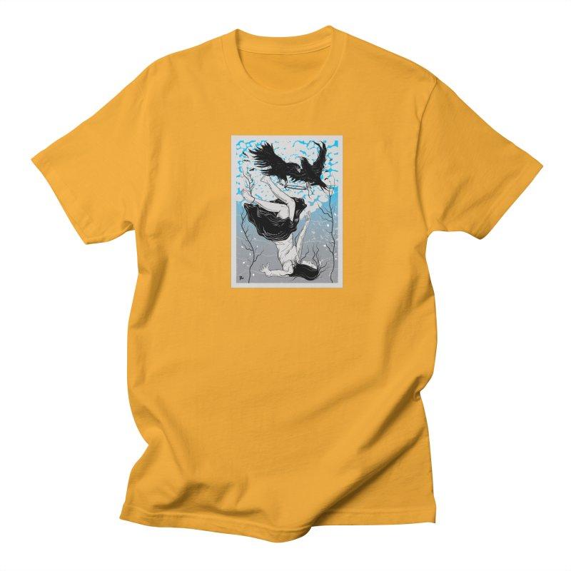 Stolen Halo Men's Regular T-Shirt by Stolen Halo the art of Rudy Flores
